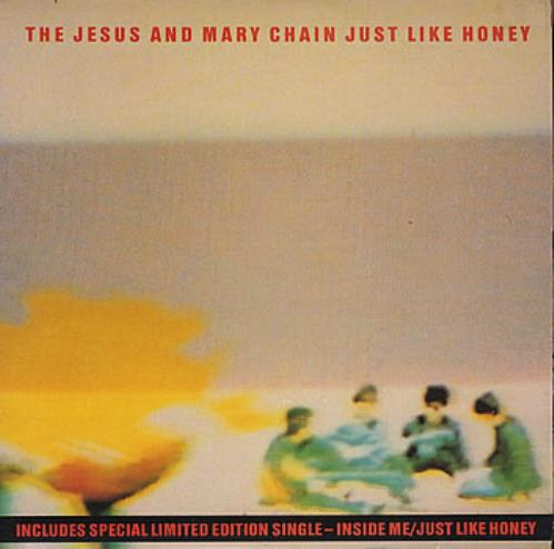 "The Jesus & Mary Chain Just Like Honey - Double Pack 7"" vinyl single (7 inch record) UK JMC07JU45490"