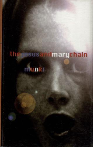 The Jesus & Mary Chain Munki cassette album UK JMCCLMU702736