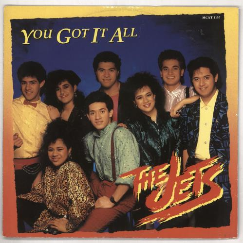 "The Jets You Got It All 12"" vinyl single (12 inch record / Maxi-single) UK JEZ12YO738389"