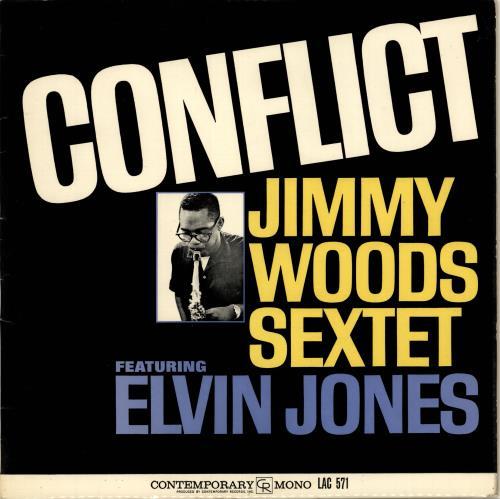 The Jimmy Woods Sextet Conflict vinyl LP album (LP record) UK YY9LPCO699160