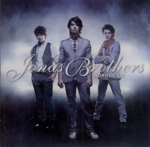The Jonas Brothers Burnin' Up promo DVD-R US TYJDRBU477778