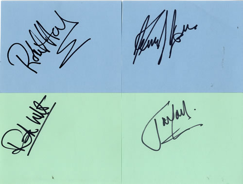 The Jones Gang Pages From An Autograph Book memorabilia UK WN3MMPA603178