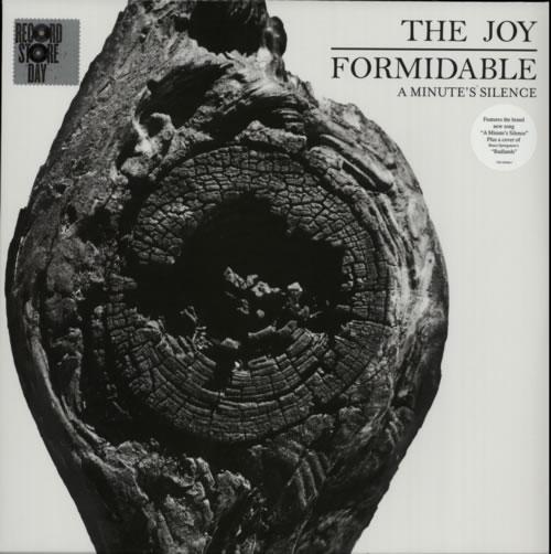 "The Joy Formidable A Minute's Silence 12"" vinyl single (12 inch record / Maxi-single) UK T7512AM585506"