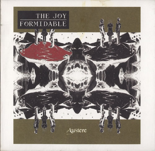 The Joy Formidable Austere CD-R acetate UK T75CRAU598119