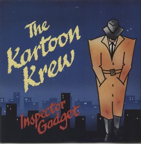 "The Kartoon Krew Inspector Gadget 7"" vinyl single (7 inch record) UK X8-07IN671990"