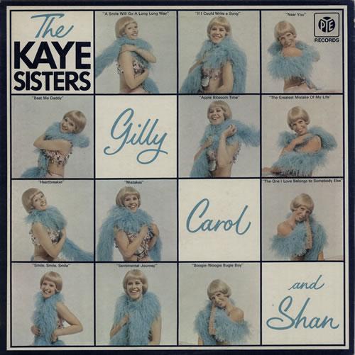 The Kaye Sisters Gilly, Carol And Shan vinyl LP album (LP record) UK KS1LPGI569830