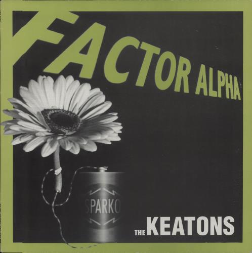 """The Keatons Factory Alpha 12"""" vinyl single (12 inch record / Maxi-single) UK UYV12FA659389"""