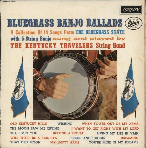 The Kentucky Travelers Bluegrass Banjo Ballads vinyl LP album (LP record) UK ZM7LPBL717787