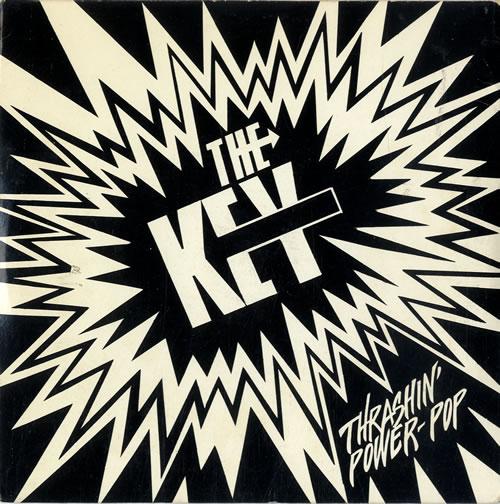 "The Key Thrashin' Power-Pop - Clear Vinyl 7"" vinyl single (7 inch record) US WMH07TH601962"