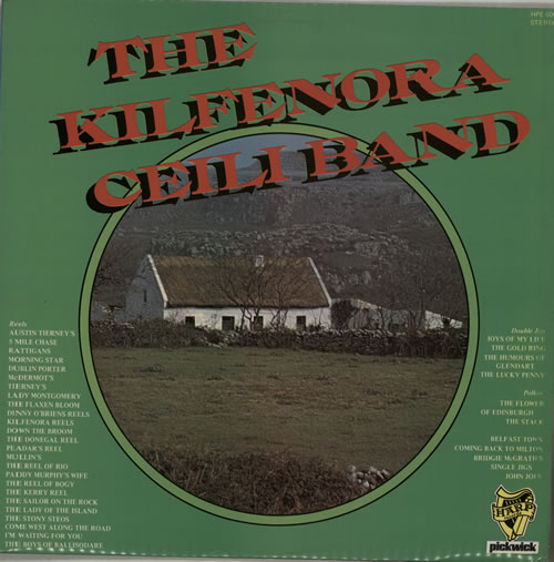 The Kilfenora Ceili Band The Kilfenora Ceili Band vinyl LP album (LP record) UK VR7LPTH567578
