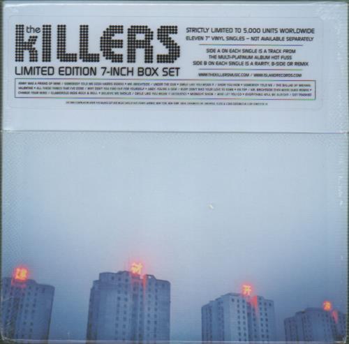 "The Killers 7 Inch Box Set - Sealed 7"" box set UK TKI7XIN344717"
