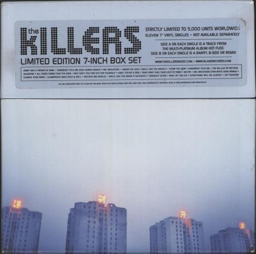 The Killers 7 Inch Box Set Vinyl Box Set UK TKIVXIN691703