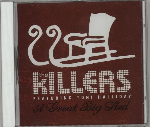 """The Killers A Great Big Sled CD single (CD5 / 5"""") US TKIC5AG386137"""