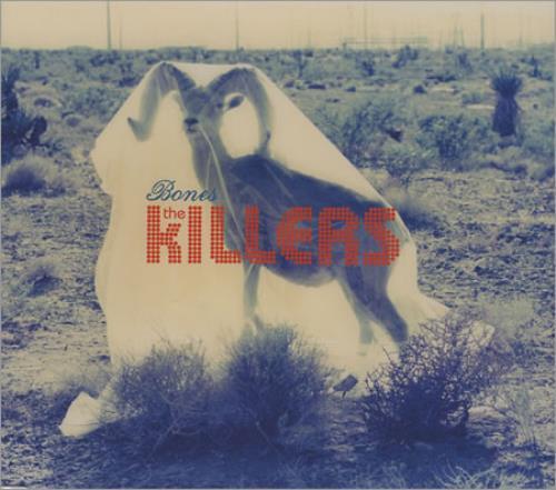 """The Killers Bones CD single (CD5 / 5"""") UK TKIC5BO393349"""