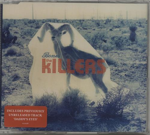 "The Killers Bones CD single (CD5 / 5"") UK TKIC5BO686419"