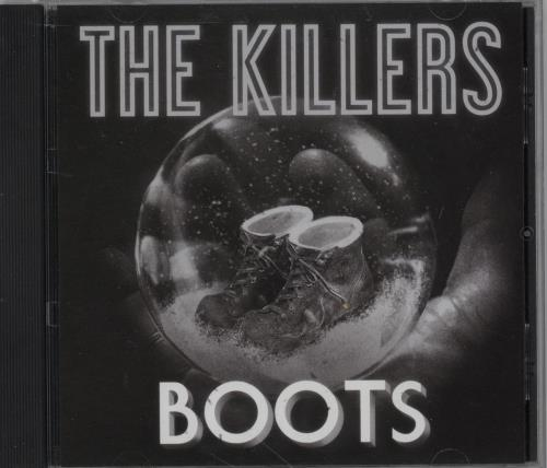 "The Killers Boots CD single (CD5 / 5"") US TKIC5BO755141"