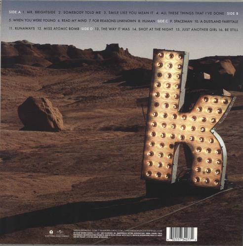 The Killers Direct Hits 2-LP vinyl record set (Double Album) UK TKI2LDI692493