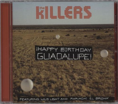 "The Killers Happy Birthday Guadalupe CD single (CD5 / 5"") US TKIC5HA755143"