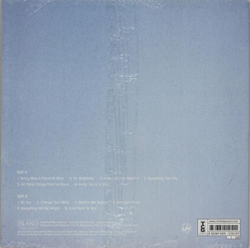 The Killers Hot Fuss - Dark Blue Vinyl + Sealed vinyl LP album (LP record) US TKILPHO356711