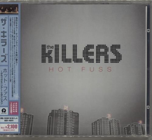 The Killers Hot Fuss - Promo Sample + Sealed 2-disc CD/DVD set Japanese TKI2DHO532712