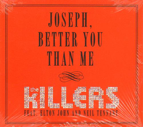"""The Killers Joseph, Better You Than Me - Sealed CD single (CD5 / 5"""") US TKIC5JO656859"""