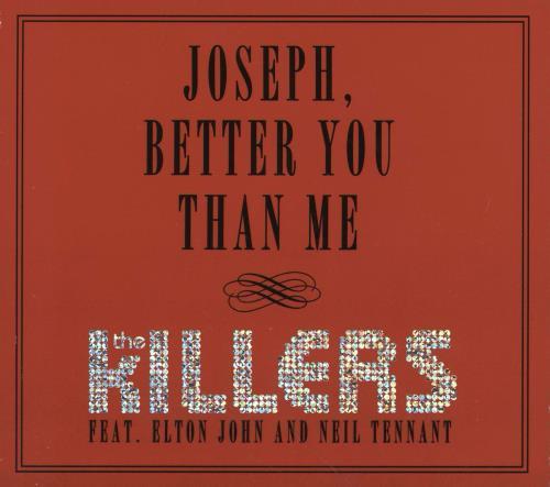 """The Killers Joseph, Better You Than Me CD single (CD5 / 5"""") US TKIC5JO755140"""