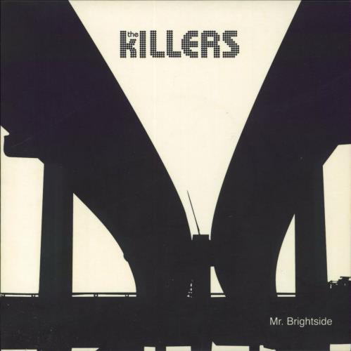 "The Killers Mr. Brightside - 1st - White Vinyl 7"" vinyl single (7 inch record) UK TKI07MR293339"