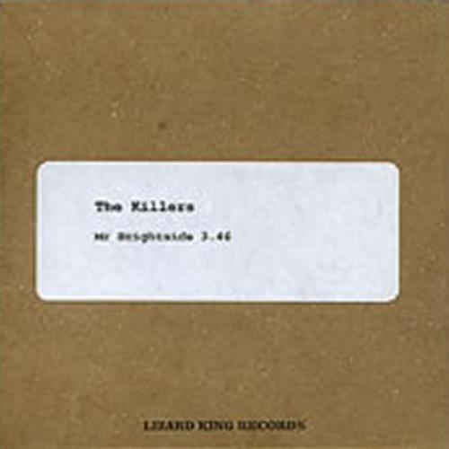 The Killers Mr. Brightside - One Track CD-R acetate UK TKICRMR291854