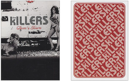 The Killers Playing Cards memorabilia UK TKIMMPL406500