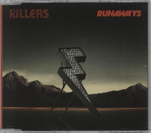 "The Killers Runaways CD single (CD5 / 5"") German TKIC5RU755145"