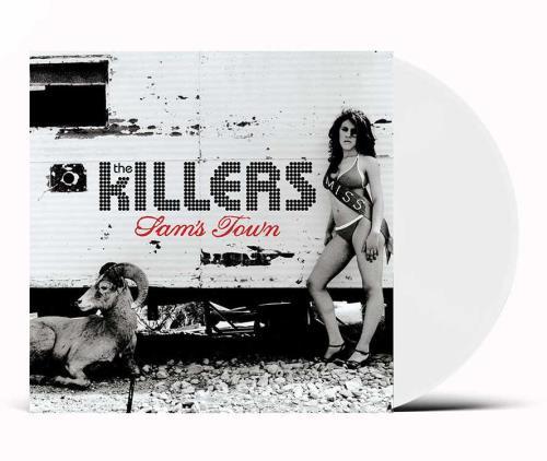 The Killers Sam's Town - White Vinyl - Sealed vinyl LP album (LP record) UK TKILPSA755567