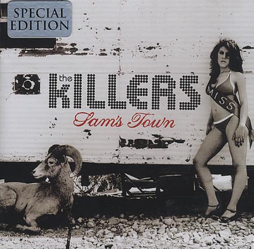The Killers Sam's Town CD album (CDLP) Australian TKICDSA398091