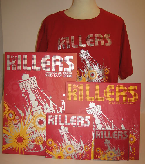 The Killers Smile Like You Mean It memorabilia UK TKIMMSM364833