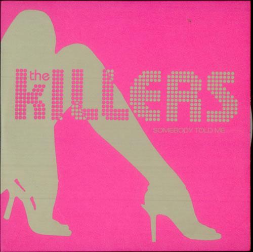 """The Killers Somebody Told Me CD single (CD5 / 5"""") UK TKIC5SO277811"""