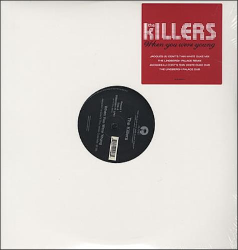 """The Killers When You Were Young 12"""" vinyl single (12 inch record / Maxi-single) US TKI12WH377531"""