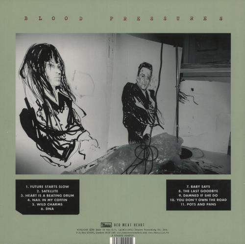 The Kills Blood Pressures - 180gm Vinyl vinyl LP album (LP record) UK T/KLPBL733293