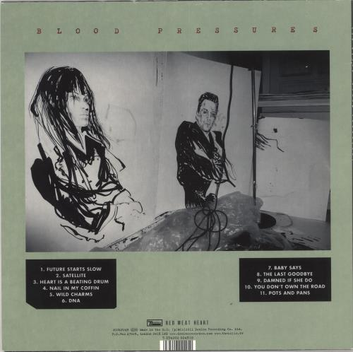 The Kills Blood Pressures - Green Vinyl vinyl LP album (LP record) UK T/KLPBL684834