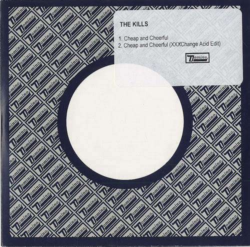 The Kills Cheap And Cheerful CD-R acetate UK T/KCRCH493996
