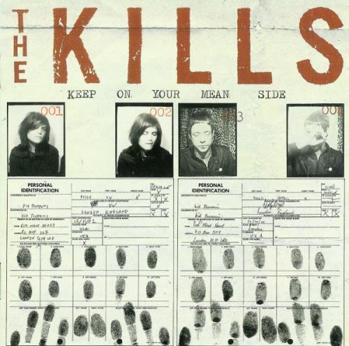 The Kills Keep On Your Mean Side CD album (CDLP) UK T/KCDKE236712