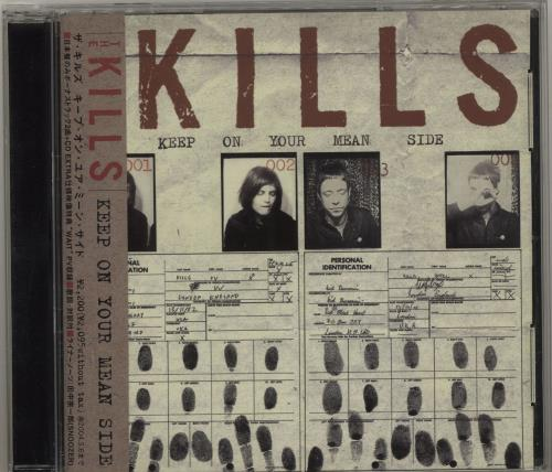 The Kills Keep On Your Mean Side CD album (CDLP) Japanese T/KCDKE239362