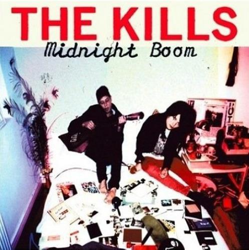 The Kills Midnight Boom CD album (CDLP) UK T/KCDMI428777