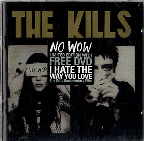 The Kills No Wow 2-disc CD/DVD set UK T/K2DNO316561
