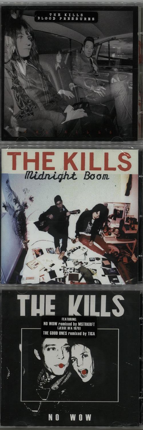 The Kills Quantity of Four Studio Albums 4-CD album set UK T/K4CQU630213