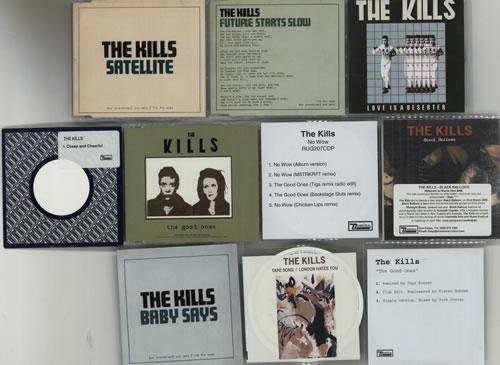 "The Kills Quantity of Nineteen Promo CDs CD single (CD5 / 5"") UK T/KC5QU630331"