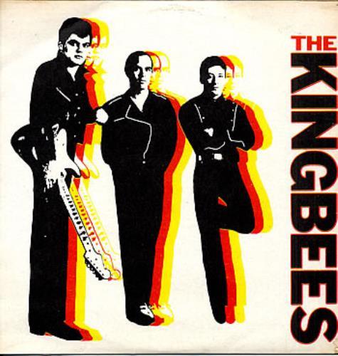 The Kingbees The Big Rock vinyl LP album (LP record) Colombian TKDLPTH291996