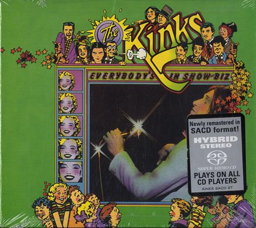 The Kinks Everybody's In Show-Biz super audio CD SACD US KINSAEV583971
