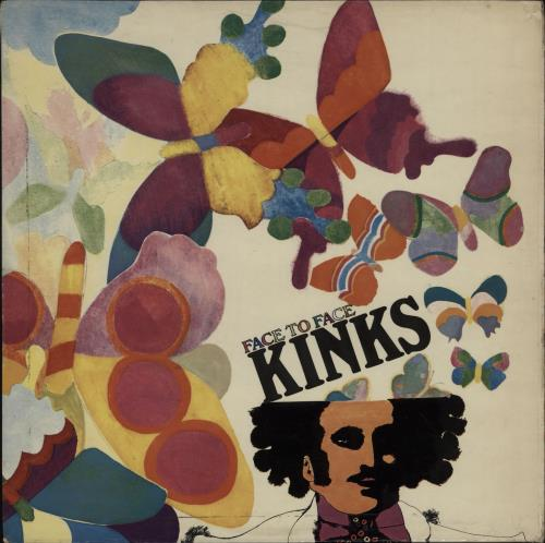 The Kinks Face To Face - 1st vinyl LP album (LP record) UK KINLPFA637924