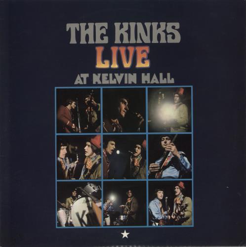 The Kinks Live At Kelvin Hall vinyl LP album (LP record) UK KINLPLI645299
