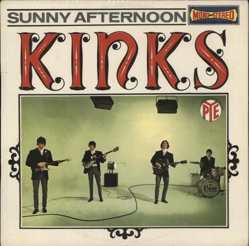 The Kinks Sunny Afternoon vinyl LP album (LP record) French KINLPSU594238