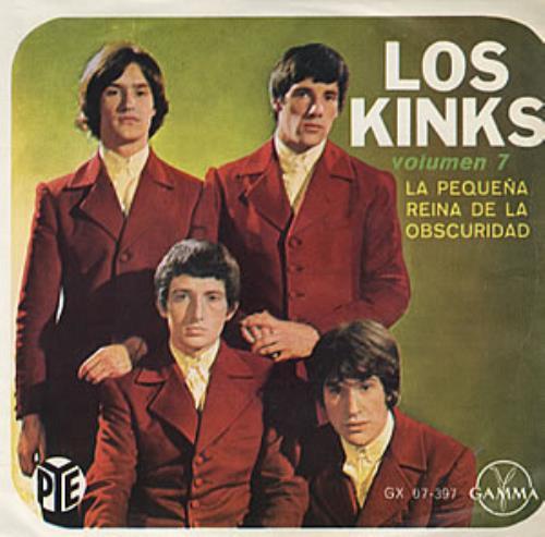 "The Kinks Volumen 7 7"" vinyl single (7 inch record) Mexican KIN07VO319388"